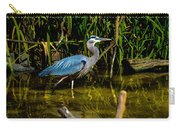 California Grey Heron Carry-all Pouch
