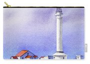 California Lighthouse Point Arena Carry-all Pouch