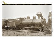 California Northwestern Railroad #30 4-6-0 Baldwin Locomotive Works 1902 Carry-all Pouch