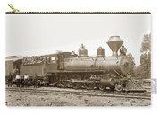 California Northwestern Railroad #30 4-6-0 Baldwin Locomotive Works Circa 1905 Carry-all Pouch