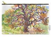 California Oak In Winter Carry-all Pouch