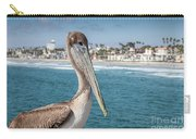 California Pelican Carry-all Pouch by John Wadleigh