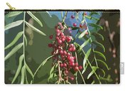 California Pepper Tree Leaves Berries Abstract Carry-all Pouch