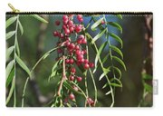 California Pepper Tree Leaves Berries I Carry-all Pouch