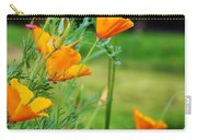 California Poppies In Alaska Carry-all Pouch