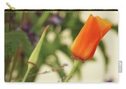 California Poppies In The Garden Carry-all Pouch