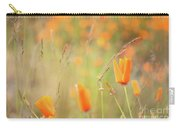 California Poppy Field 4 Carry-all Pouch