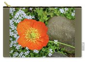 California Poppy Rock Garden Carry-all Pouch