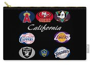 California Professional Sport Teams Collage  Carry-all Pouch