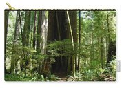 California Redwood Trees Forest Art Carry-all Pouch
