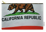 California Republic Flag Carry-all Pouch