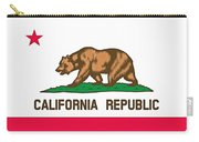 California State Flag Carry-all Pouch