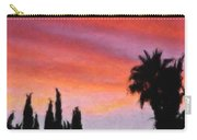 California Sunset Painting 3 Carry-all Pouch