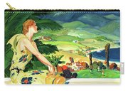 California This Summer Restored Vintage Poster Carry-all Pouch