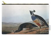 Californian Partridge Carry-all Pouch