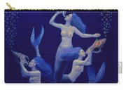 Call Of The Mermaids Carry-all Pouch