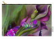 Calla Lilies Carry-all Pouch by Carol Cavalaris