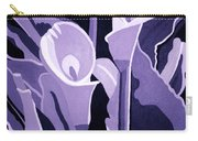 Calla Lillies Lavender Carry-all Pouch