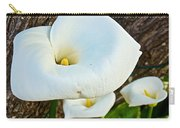 Calla Lily At Carmel Mission-california Carry-all Pouch