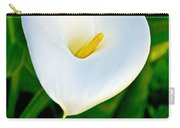 Calla Lily Closeup At Pilgrim Place In Claremont-california Carry-all Pouch