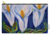 Calla Lily, Impressionism Art Carry-all Pouch