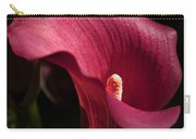 Calla Lily Carry-all Pouch by Joanne Smoley