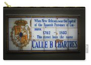 Calle De Chartres Carry-all Pouch
