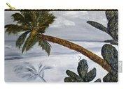 Calm Beach Palm Carry-all Pouch