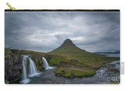 Calm Before The Storm At Kirkjufell Carry-all Pouch