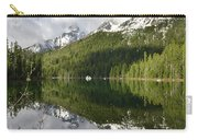 Calm Reflection On String Lake Carry-all Pouch