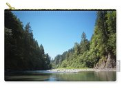 Calm Sandy River In Sandy, Oregon Carry-all Pouch