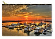 Calm Waters Bull River Marina Tybee Island Savannah Georgia Art Carry-all Pouch