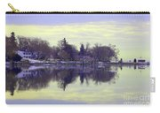 Calming Lavendar Scene Carry-all Pouch