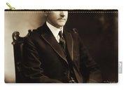 Calvin Coolidge Portrait Carry-all Pouch