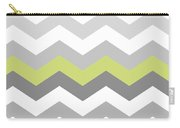 Calyx Chevron Pattern Carry-all Pouch