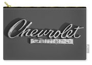 Camaro Logo In Black And White Carry-all Pouch