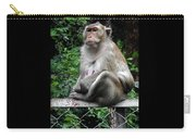Cambodia Monkeys 3 Carry-all Pouch