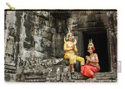Cambodian Dancers At Angkor Thom Carry-all Pouch