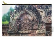 Cambodian Temple Details Banteay Srey Carry-all Pouch