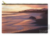Cambria Coastline With Shimmering Sunset Color Carry-all Pouch