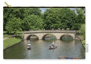 Cambridge Punting On The River Carry-all Pouch
