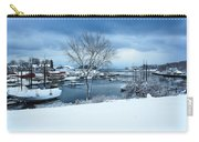 Camden Harbor In The Snow Carry-all Pouch