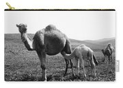 Camel And Young Carry-all Pouch
