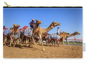 Camel Racing In Dubai Carry-all Pouch