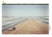 Camel Racing Track In Dubai Carry-all Pouch
