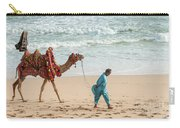 Camel Ride On Beach Carry-all Pouch