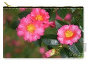 Camellia Pink Carry-all Pouch