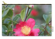 Camellia Sasanqua Yuletide Carry-all Pouch