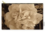 Camellia Sepia Carry-all Pouch