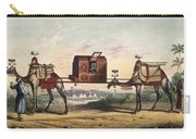 Camels And Litter Carry-all Pouch